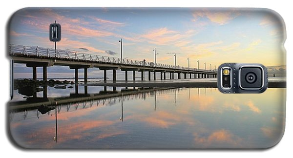Colourful Cloud Reflections At The Pier Galaxy S5 Case