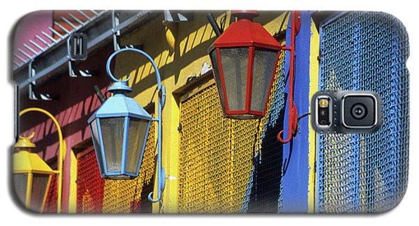 Colourful Lamps La Boca Buenos Aires Galaxy S5 Case