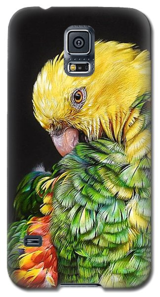 Colours Of The Jungle - Yellow-headed Amazon Galaxy S5 Case