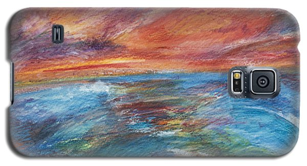 Colours Of The Sea 8 Galaxy S5 Case