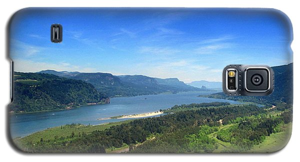 Galaxy S5 Case featuring the photograph Columbia Gorge by Irina Hays