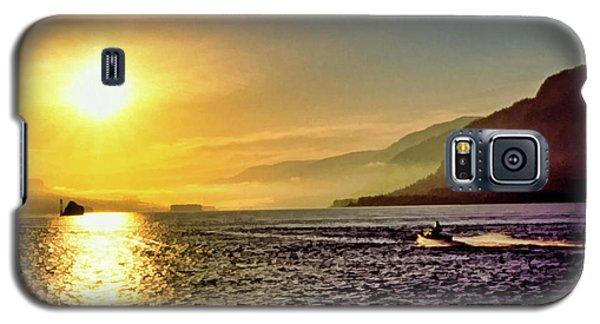 Columbia River 001 Galaxy S5 Case by Scott McAllister