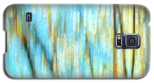 Columbia River Abstract Galaxy S5 Case by Theresa Tahara