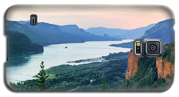 Columbia River With Vista House Galaxy S5 Case
