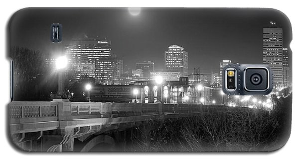 Columbia Skyline At Night Galaxy S5 Case