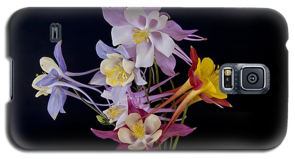 Galaxy S5 Case featuring the photograph Columbine Medley by Gary Lengyel