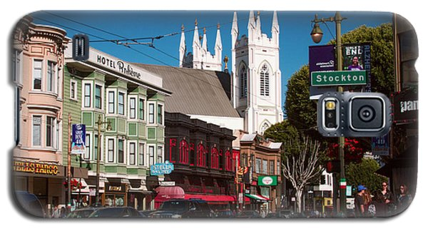 Columbus And Stockton In North Beach Galaxy S5 Case