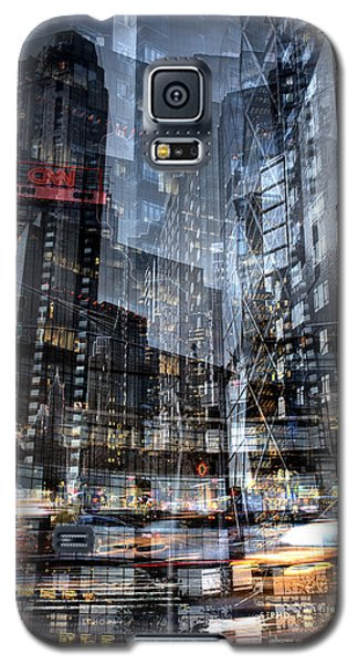 Columbus Circle Collage 1 Galaxy S5 Case by Dave Beckerman
