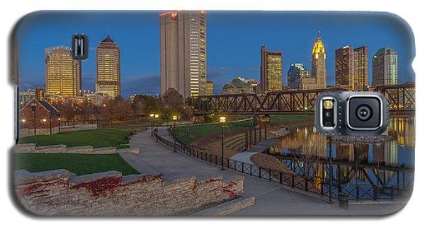 Columbus Ohio Skyline At Dusk Galaxy S5 Case