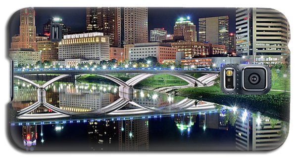 Columbus Over The Scioto Galaxy S5 Case by Frozen in Time Fine Art Photography