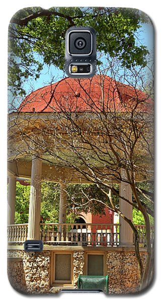 Comal County Gazebo In Main Plaza Galaxy S5 Case