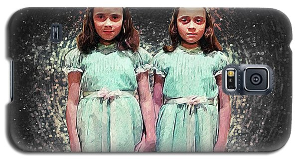 Come Play With Us - The Shining Twins Galaxy S5 Case by Taylan Apukovska