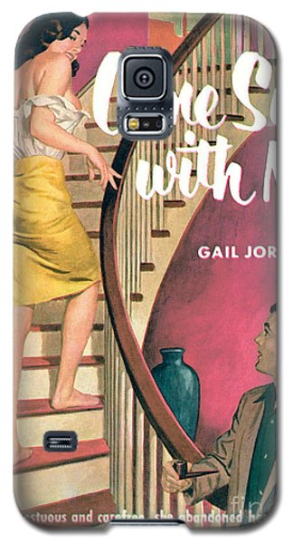 Galaxy S5 Case featuring the painting Come Sin With Me by Walter Popp