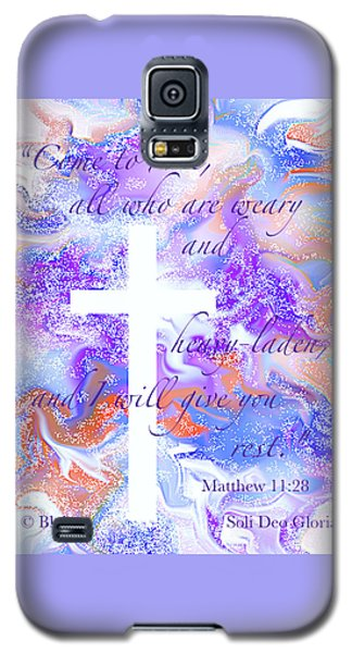 Come Unto Me Galaxy S5 Case