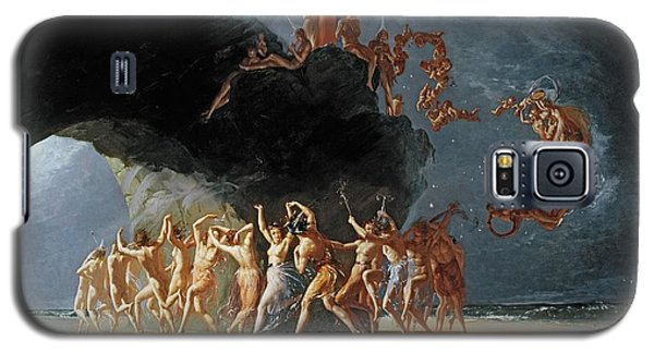 Come Unto These Yellow Sands Galaxy S5 Case by Richard Dadd