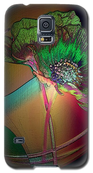Galaxy S5 Case featuring the photograph Comely Cosmos by Irma BACKELANT GALLERIES