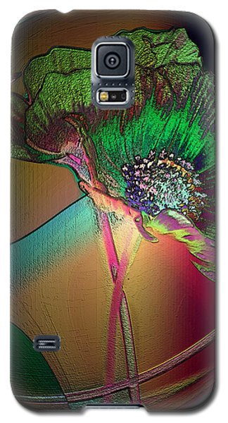 Comely Cosmos Galaxy S5 Case by Irma BACKELANT GALLERIES