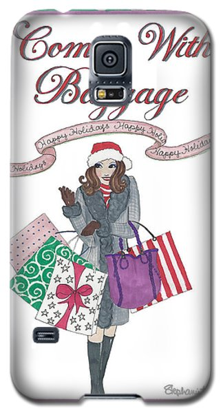 Comes With Baggage - Holiday Galaxy S5 Case