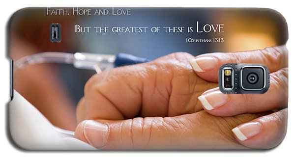 Comforting Hand Of Love Galaxy S5 Case