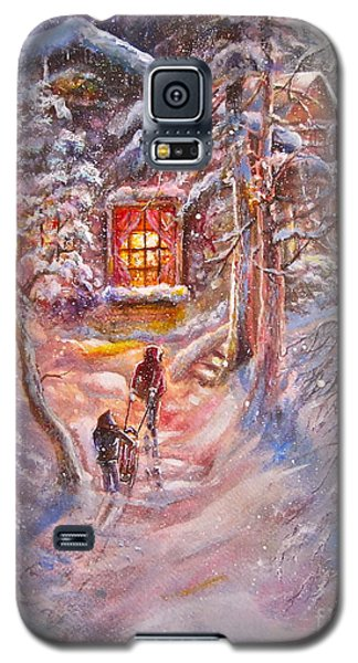 Coming Home Galaxy S5 Case by Patricia Schneider Mitchell