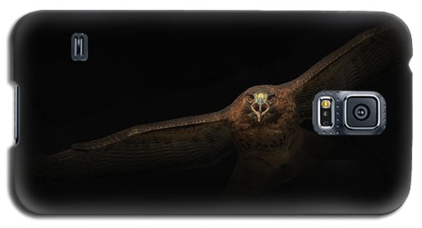 Galaxy S5 Case featuring the photograph Coming Out Of The Dark by Angie Vogel