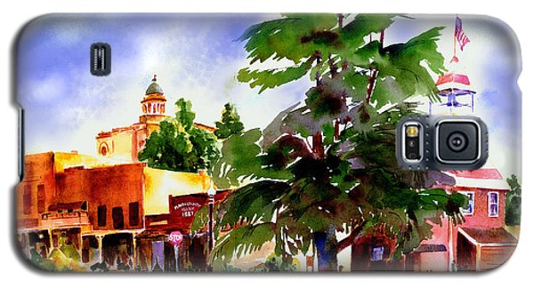 Commercial Street, Old Town Auburn Galaxy S5 Case