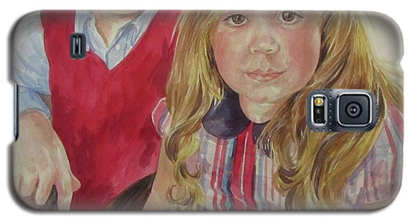Commissioned Portrait Galaxy S5 Case