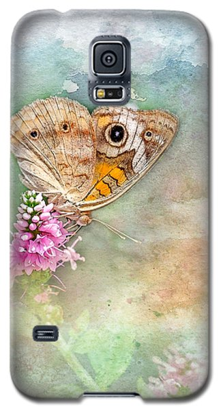 Galaxy S5 Case featuring the photograph Common Buckeye by Betty LaRue