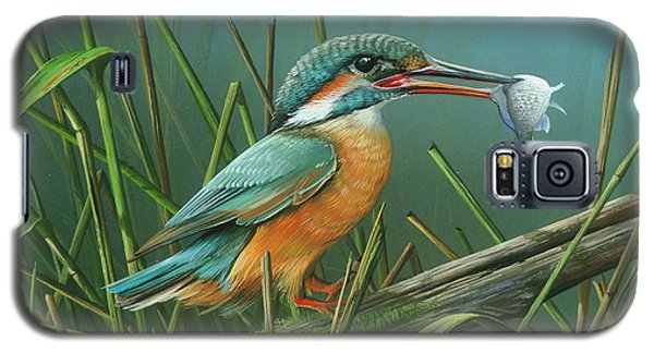 Common Kingfisher Galaxy S5 Case