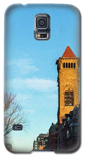 Commonwealth Avenue In Boston Galaxy S5 Case
