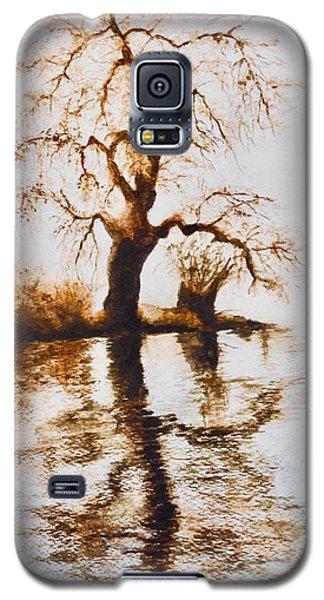 Como Lake Reflections Galaxy S5 Case