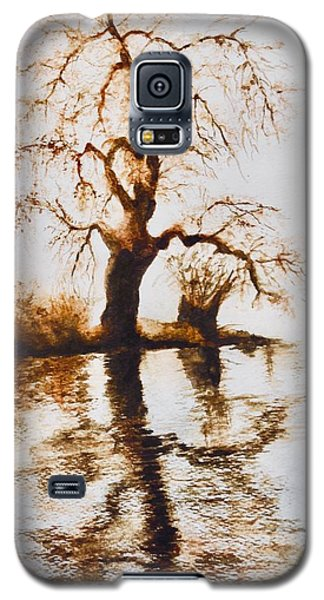 Como Lake Reflections Galaxy S5 Case