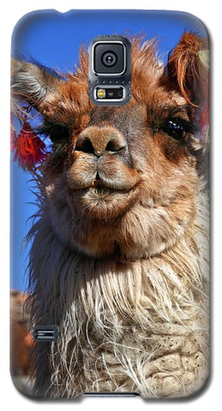 Galaxy S5 Case featuring the photograph Como Se Llama by Skip Hunt