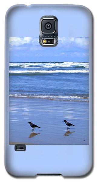 Companion Crows Galaxy S5 Case