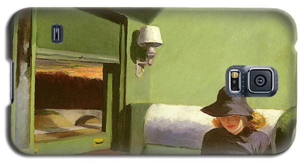 Compartment C Galaxy S5 Case by Edward Hopper