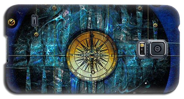 Galaxy S5 Case featuring the digital art Compass by Alexa Szlavics