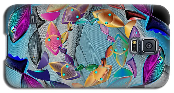 Complexical No 2159 Galaxy S5 Case by Alan Bennington