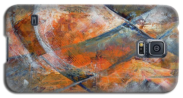 Composition Hieroglyphe Galaxy S5 Case by Walter Fahmy