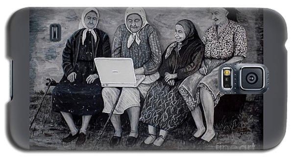 Computer Class Galaxy S5 Case by Judy Kirouac