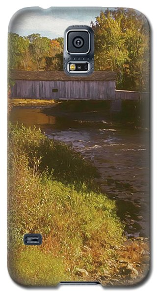 Comstock Covered Bridge Galaxy S5 Case
