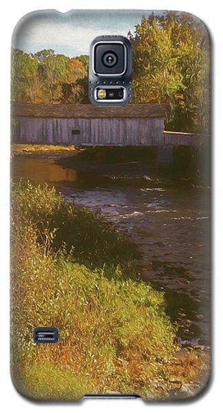 Comstock Covered Bridge Galaxy S5 Case