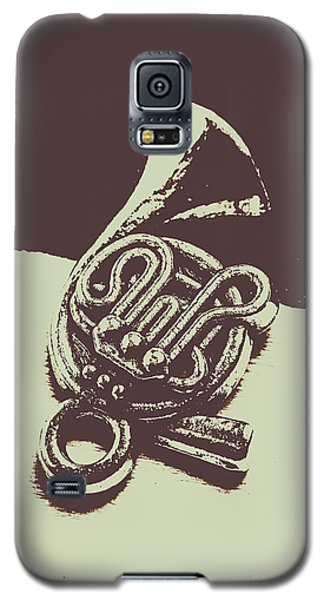 Trumpet Galaxy S5 Case - Concert Of A French Horn by Jorgo Photography - Wall Art Gallery