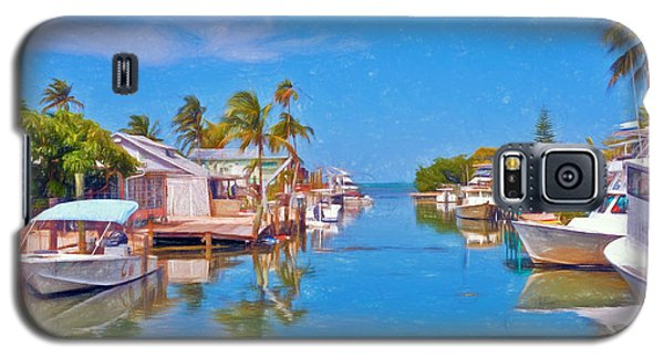 Conch Key Waterfront Living 3 Galaxy S5 Case