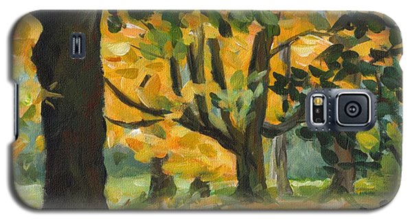 Concord Fall Trees Galaxy S5 Case