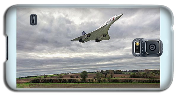 Concorde - High Speed Pass_2 Galaxy S5 Case by Paul Gulliver