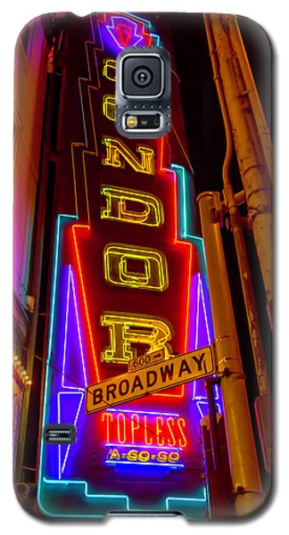 Condor Neon On Broadway Galaxy S5 Case