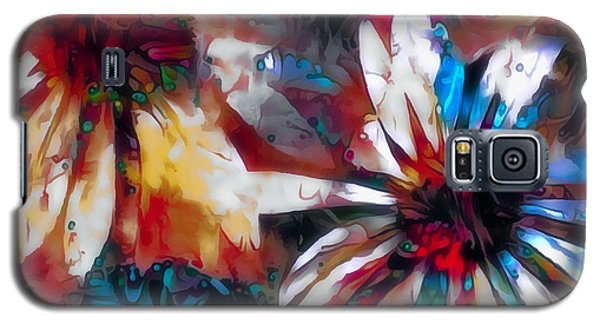 Cone Flower Fantasia I Galaxy S5 Case by Jack Torcello