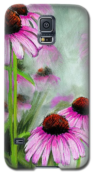 Coneflowers In The Mist Galaxy S5 Case