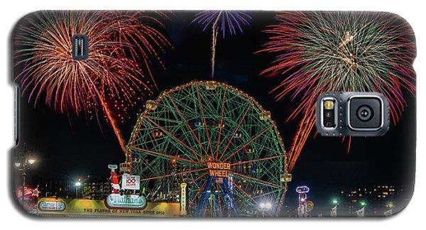 Coney Island At Night Fantasy Galaxy S5 Case