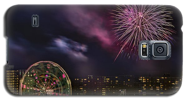Coney Island Fireworks Galaxy S5 Case